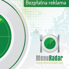 Menu Radar leaflet