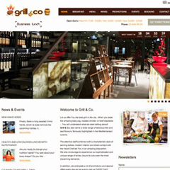 Grill & Co Website